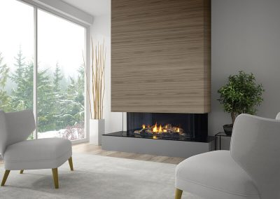 Mendota fireplaces by SchagrinGAS